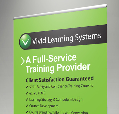 Vivid Learning Systems – Display & Collateral
