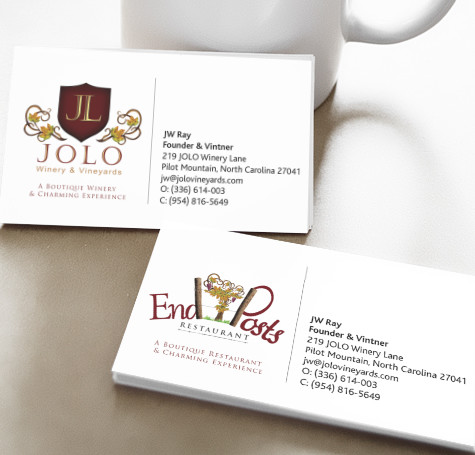 Jolo Vineyards – Business Cards