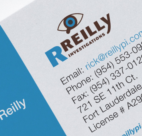 R.Reilly Investigation – Logo